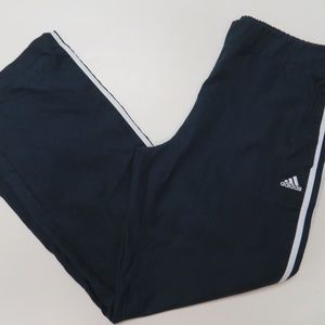 Adidas Track Pants Mens Large Blue Basketball